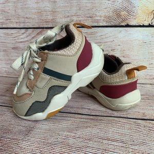 Zara Baby Contrasting Unisex Sneakers size 20